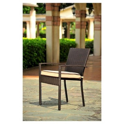 Harrison 4-Piece All Weather Wicker Dining Chair Set