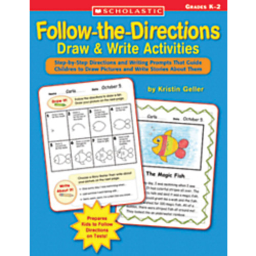 Scholastic Follow Directions Draw/Write