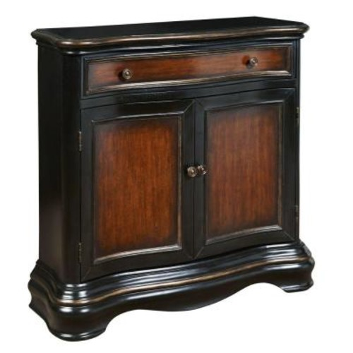 Pulaski Furniture Black Storage Cabinet