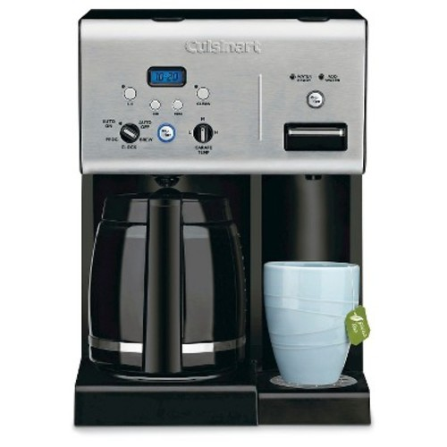 Cuisinart 12 Cup Programmable Coffee Maker & Hot Water System - Stainless Steel CHW-12