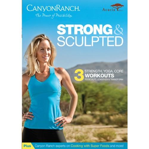 Canyon Ranch: Strong & Sculpted [DVD] [2012]