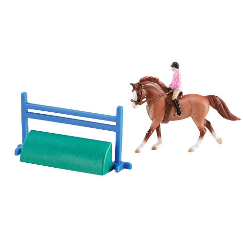 Breyer Stablemates Horse and Riders Set