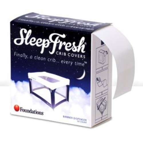 Foundations SleepFresh The Foundations Ribbons Crib Cover