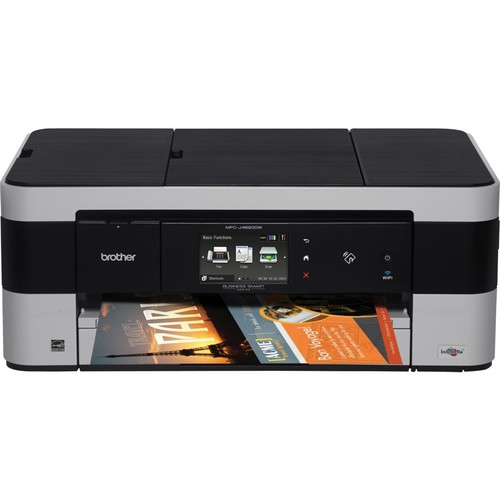 Brother Business Smart MFCJ4620DW Wireless Multifunction Color Inkjet Printer with 11