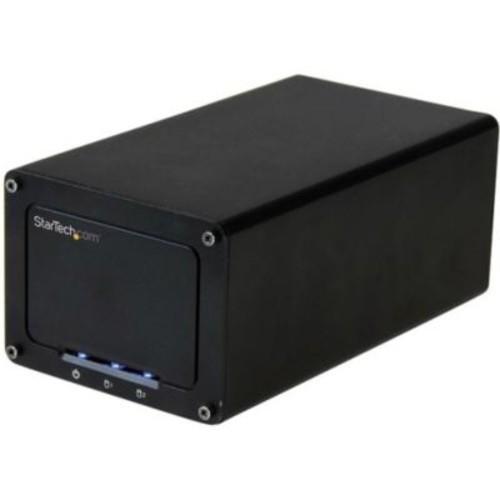 StarTech.com USB 3.1 (10Gbps) External Enclosure for Dual 2.5