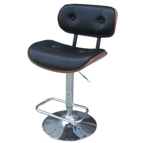 Pacific Direct Emmerson Adjustable Height Bar Stool w/ Cushion
