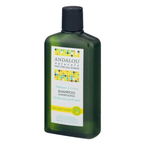 Andalou Naturals - Sunflower & Citrus Brilliant Shine Shampoo - 11.5 oz.