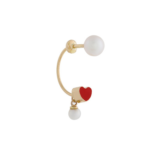 Heart Piercing earring
