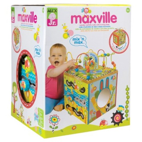 ALEX Toys ALEX Jr. Maxville Wooden Activity Cube