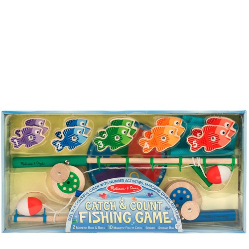 Melissa \u0026 Doug Catch \u0026 Count Fishing Game
