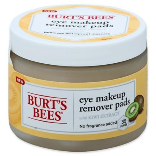 Burt's Bees 35-Count Eye Makeup Remover Pads with Kiwi Extract