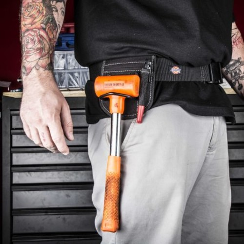 Dickies Work Gear 57071 Black 2-Compartment Hammer Holder