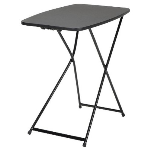 Cosco Black Adjustable 2-Pack Folding Tailgate Table