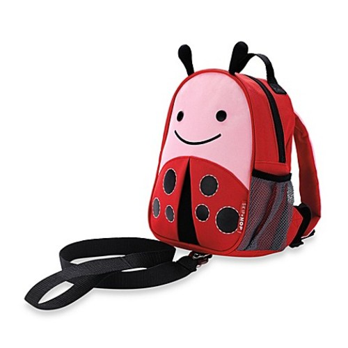 SKIP*HOP Zoo Ladybug Safety Harness with Mini Backpack with Rein