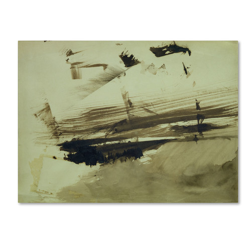Trademark Global Victor Hugo 'Evocation of an Island' Canvas Art [Overall Dimensions : 18x24]