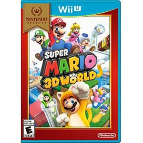 Wii U-Nintendo Selects: Super Mario 3D World