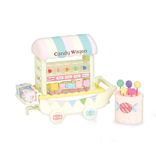 Calico Critters Candy Wagon Accessory Set