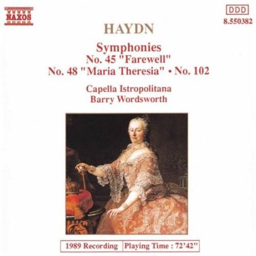 Haydn: Symphonies No. 45, No. 48, No. 102