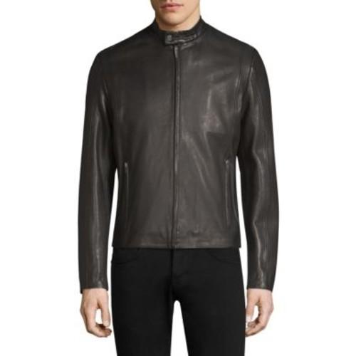 Leras Leather Racer Jacket