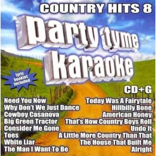 Party Tyme Karaoke: Country Hits, Vol. 8 [CD + G]
