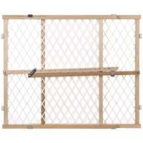 North States Brown Wood Child Safety Gate 26-42 in. W(4604)