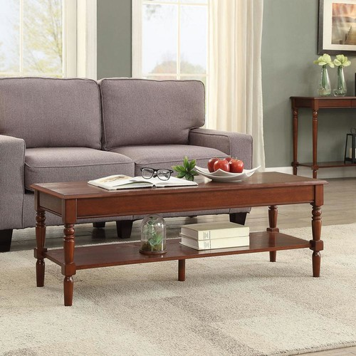 Convenience Concepts French Country Espresso Coffee Table
