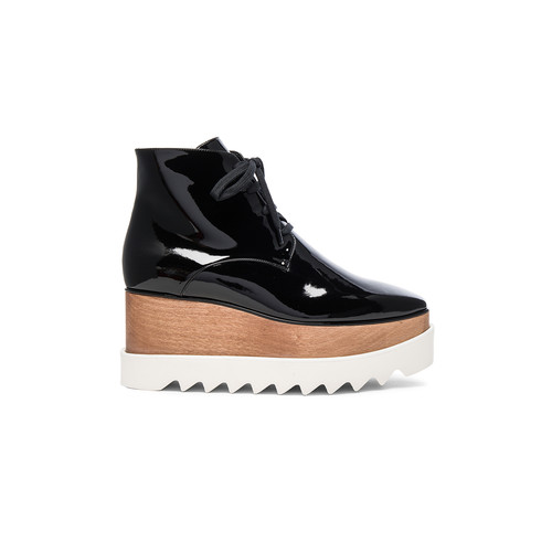STELLA MCCARTNEY Elyse Platform Boots In Black