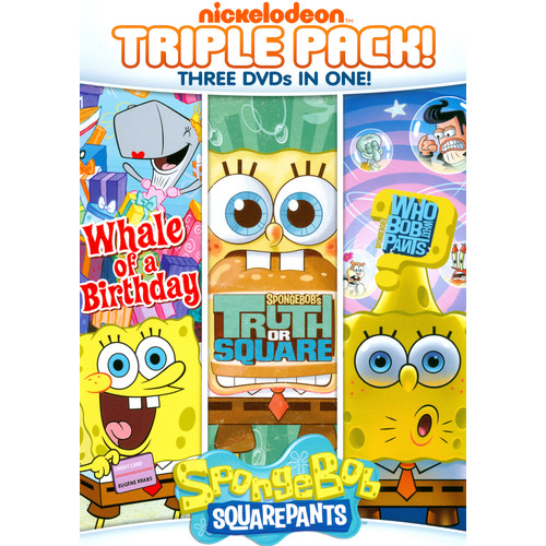 SpongeBob SquarePants: Truth or Square/Who Bob What Pants/Whale of a Birthday [3 Discs] [DVD]
