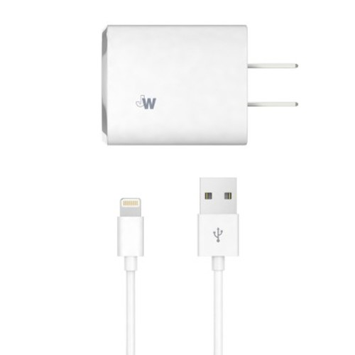 Lightning USB Home Charger 8 Pin White - Just Wireless