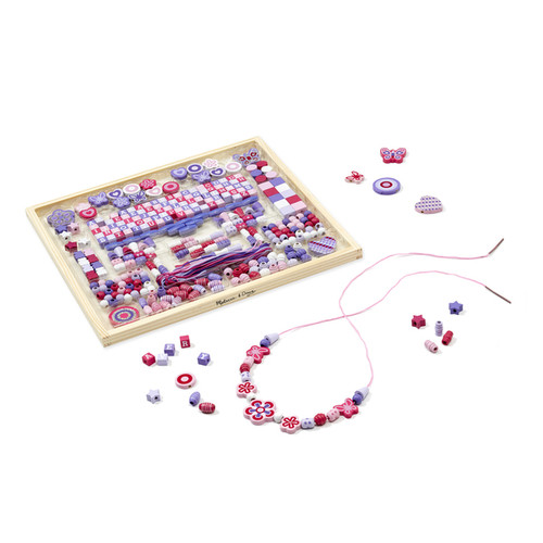 Melissa & Doug Toys Deluxe Collection Wooden Bead Set