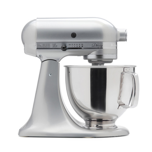 KitchenAid RRK150SR Sugar Pearl 5-quart Artisan Tilt-Head Stand Mixer