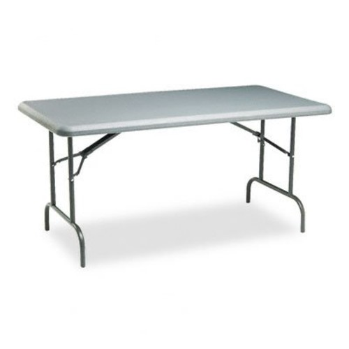 ICE65217 - Iceberg IndestrucTables Too 1200 Series Resin Folding Table [Grey]