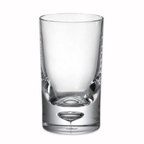 Bubble Bottom Double Old Fashioned Glass in Clear