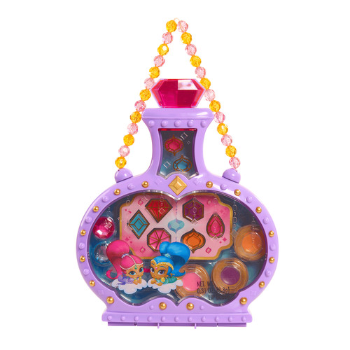 Nickelodeon Shimmer and Shine Genie Bottle Makeup Case