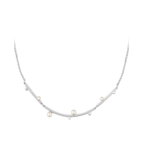 Simulated Pearl Necklace, 16