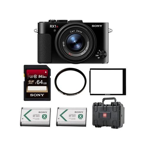 Sony Cyber-shot DSC-RX1 RII Digital Still Camera , 64GB Hardcase Bundle