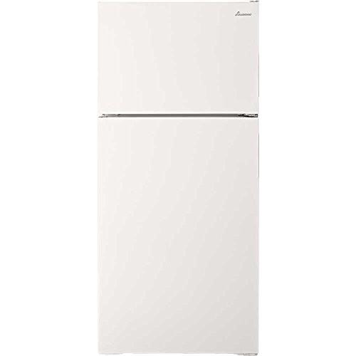 Amana - 14.4 Cu. Ft. Top-Freezer Refrigerator - White