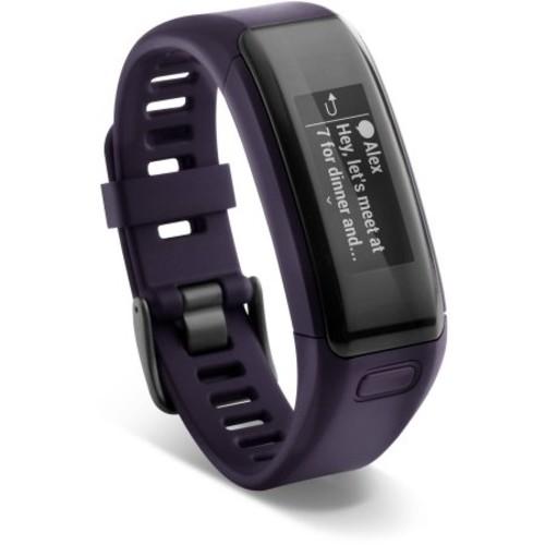 Garmin 01955-07 Vivosmart HR Activity Tracker Imperial Purple Regular
