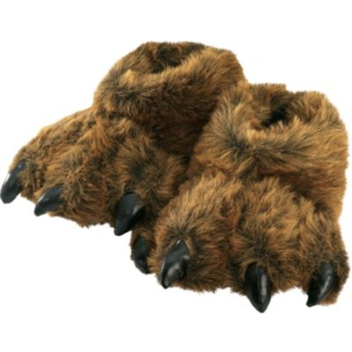 Wishpets Grizzly Bear Slippers [MODEL : MEDIUM]