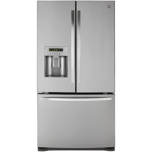 Kenmore 73055 26.8 cu. ft. French Door Bottom-Freezer Refrigerator - Fingerprint Resistant Stainless Steel