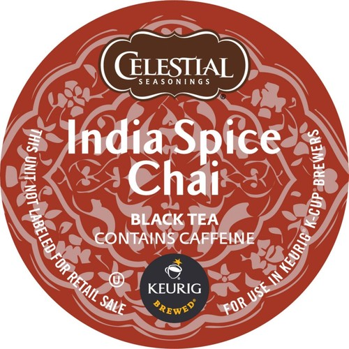 Keurig K-Cup Celestial Seasonings India Chai Spice Tea, K-Cups, 24/Pack