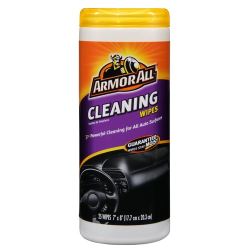 Armor All MULTI PURPOSE CLEANING WIPES 25CT