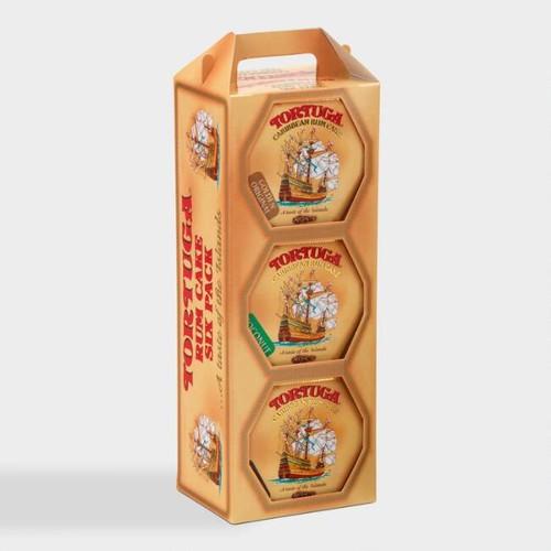 Tortuga Assorted Caribbean Rum Cakes 6 Pack