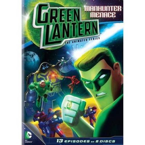Green Lantern: The Animated Series - Manhunter Menace (dvd_video)