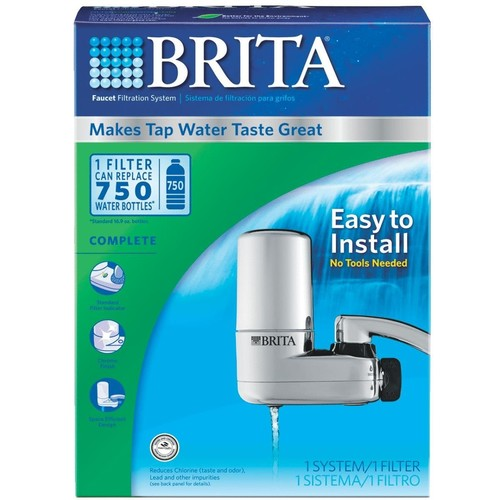 Brita Faucet Filter System in Chrome