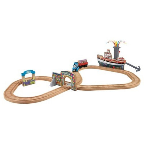 Fisher-Price Thomas & Friends Wooden Railway Celebration on Sodor Set