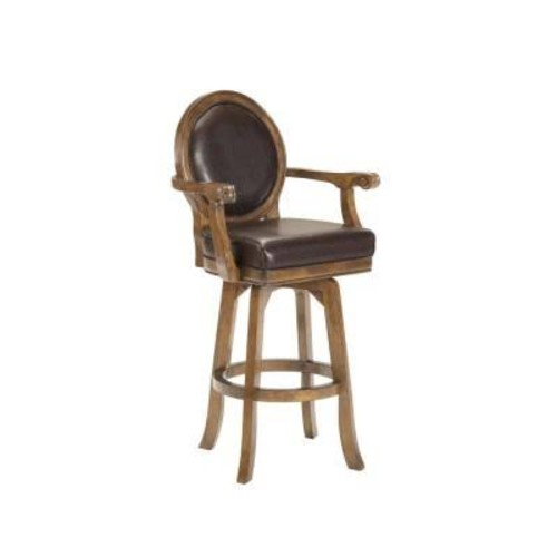 Hillsdale Furniture Warrington 30'' Swivel Bar Stool with Cushion