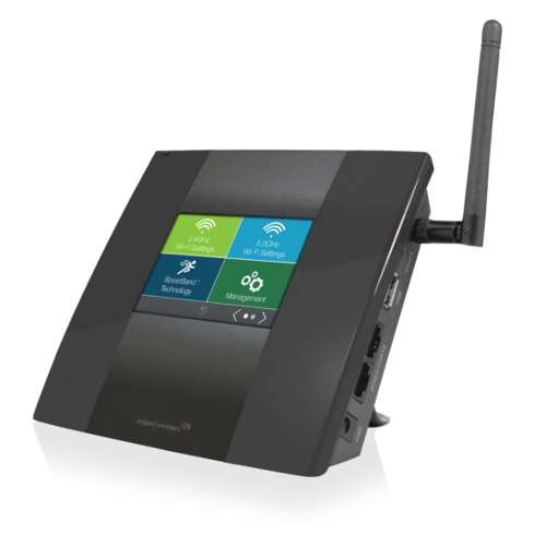 Amped Wireless HighPower Touch Screen AC750 Wi-Fi Range Extender - Upto 10000 Sq ft of Wi-Fi,802.11a/b/g/n/ac,2.4GHz, Ultra Fast Wi-Fi Speeds, Easy Touch Screen set Up, RJ-45, USB 2.0 - TAP-EX2