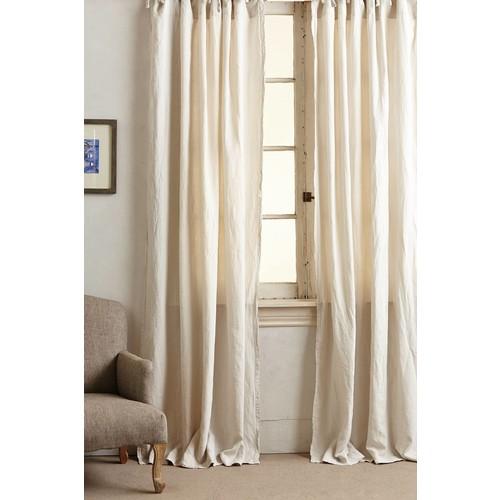 Garment-Dyed Linen Curtain