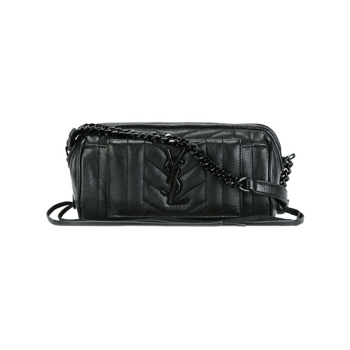 SAINT LAURENT 'Rider Monogram' Crossbody Bag